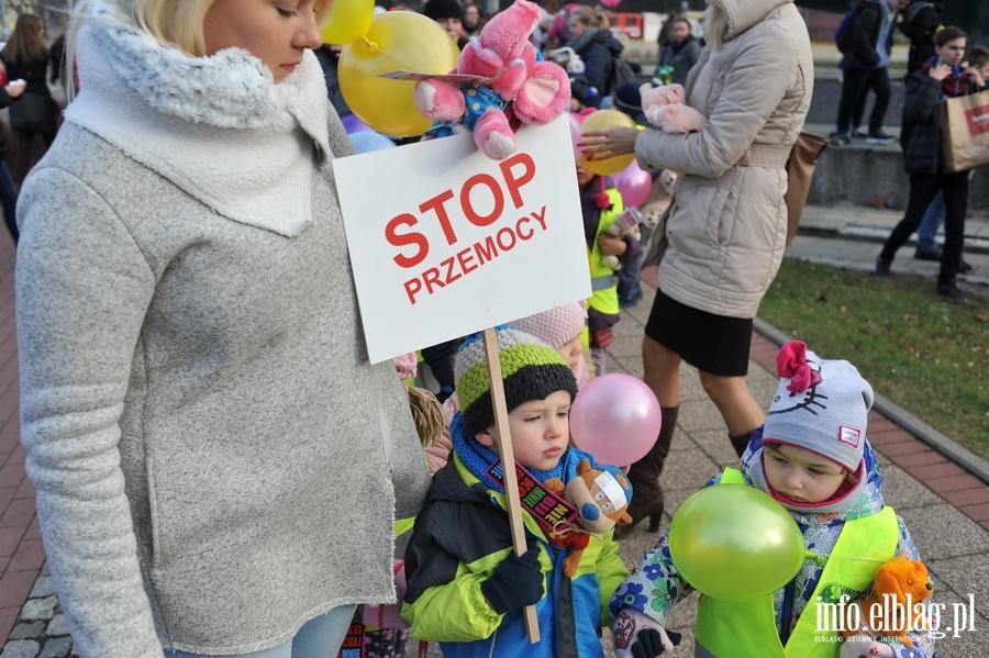 Stop przemocy - marsz ulicami Elbl�ga