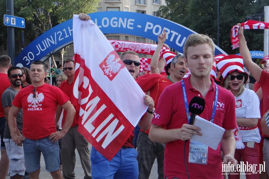 Fotoreporta� z meczu Polska - Portugalia w Marsylii na EURO 2016