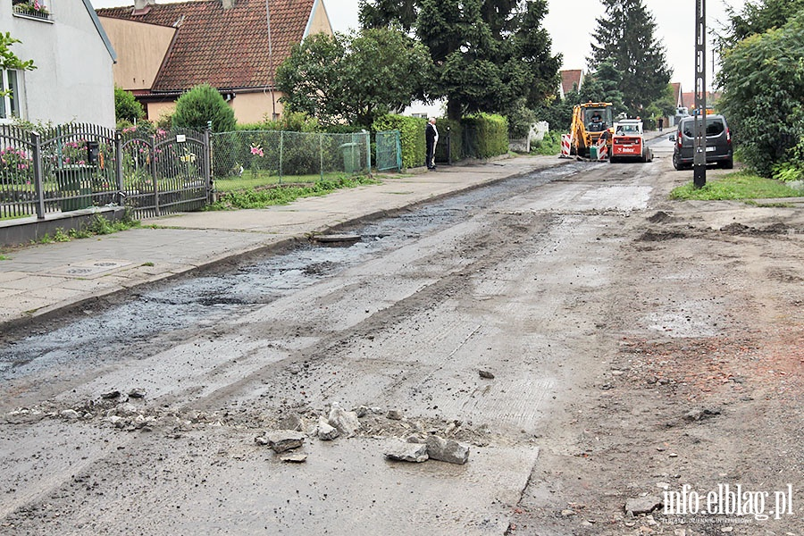 Ulica Szucha doczeka�a sie naprawy