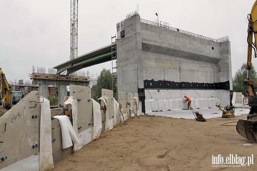 Nowy wiadukt na Warszawskiej