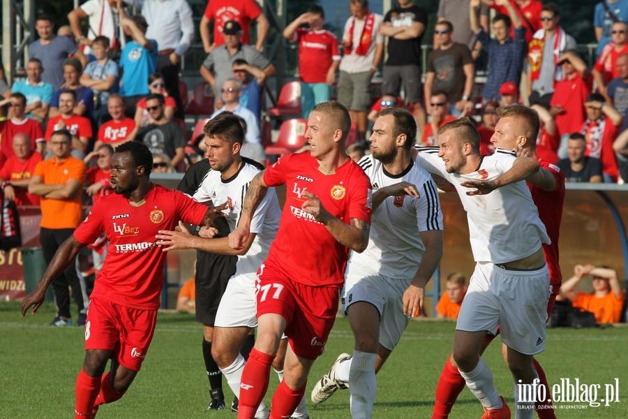 Mecz Widzew ��d� - Concordia Elbl�g 2-1