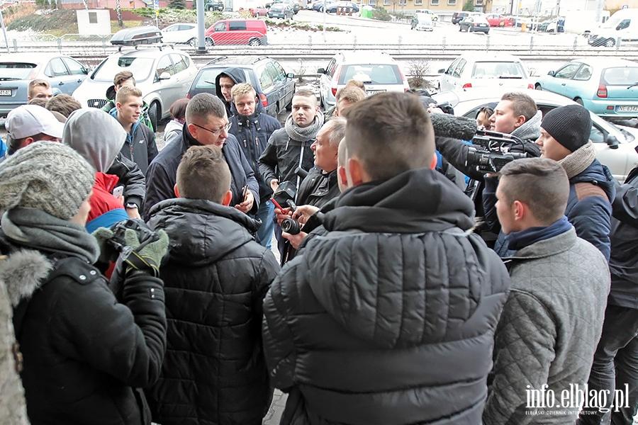 Stonoga  Zbigniew w Prokuraturze Rejonowej