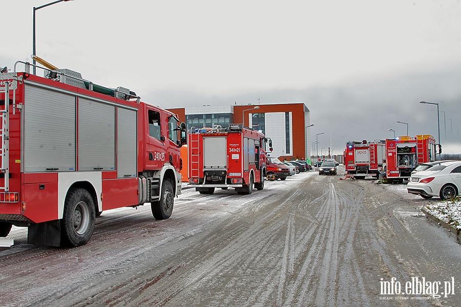 Ćwiczenia strażaków w EPT