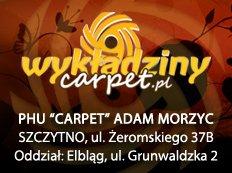 """Przedsiębiorstwo Handlowo-Usługowe """"CARPET"""" ADAM MORZYC"""